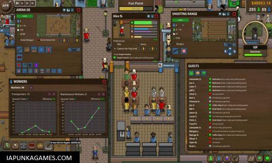 Battle Royale Tycoon Screenshot 2, Full Version, PC Game, Download Free