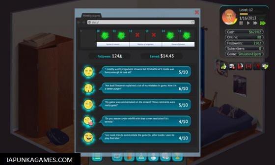 Streamer's Life Screenshot 3, Full Version, PC Game, Download Free