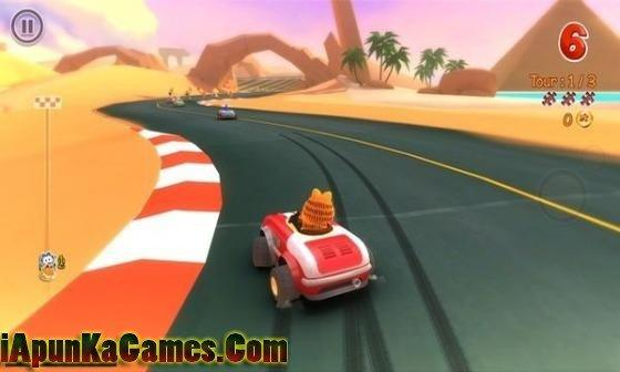 Garfield Kart Free Download Screenshot 3